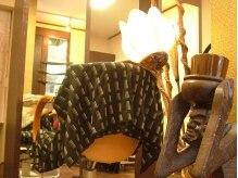 イケ ヘアデザイン(IKE hair design)の雰囲気(アジアン雑貨でいっぱいの店内…かわいすぎます!!)