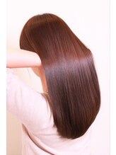 ヘアーラウンジ ハピル(Hair lounge Hapir)M3Dプレミアム縮毛矯正 ストレートスタイル