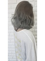 ウィル 魚住店(WILL)【透明感×外国人風】アッシュグレイグラデーションカラー