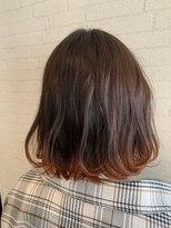 アヴァンティ ヘアーアンドスパ(avanti hair&spa)裾カラーOR