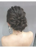 【LAIDBACK】パーティー結婚式シニヨンヘアセット☆ヘア