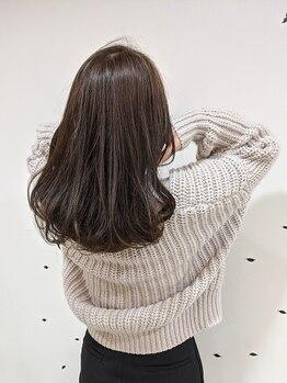 バンブーヘアクラブ 常盤平店の写真/【高品質*アヴェダカラー取扱店◎】ダメージレスのおしゃれ染めと白髪染めの両方を楽しめます!