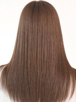 アン フォー ヘアー(Anne for hair)の写真/ダメージがとっても少ない薬剤を使用し、毛先まで潤うツヤ髪に♪柔らかな質感・自然なストレートが魅力★