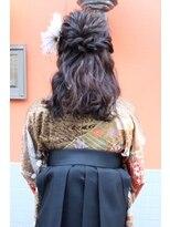 dee 卒業式袴スタイル