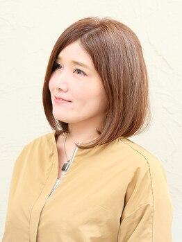 美容室シエル(Ciel)の写真/【グレイカラー+ヒアルロン酸トリートメント】で髪を労りながらカラー!明るい色味もキレイに染まります◎