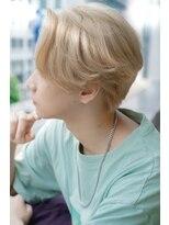 リップスヘアー 銀座(LIPPS hair)韓流ハンサムショートリバース
