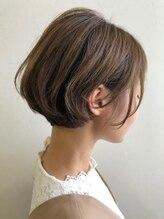 マグサロンギャラリー(Mag salon gallery)人気の耳掛けショートスタイル☆透明感カラーでモテ髪
