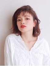 ムーン ティコブラーエ(moon tico brae)前髪/イヤリングカラー/イメチェン/ラベンダーカラー/くびれ