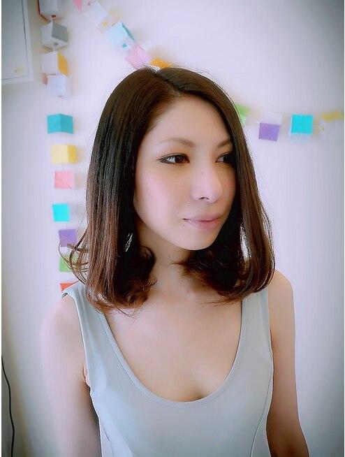 トップのボリューム残す】大人のTOKIO縮毛矯正は個別悩み解消