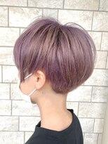 【AMAZING HAIR 千歳店/横山】lavender ash x short