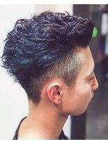 オムヘアーツー (HOMME HAIR 2)エッジの効いたパーマスタイル#Hommehair2nd櫻井