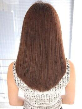 ビームズ ヘアー 大曽根店(Bee ms HAIR)の写真/【大曽根】ダメージヘアも潤いに満たされた艶髪に♪毛先まで流れる手触りに感動◎お悩みも気軽に相談して