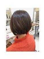 ヘアメイク リヴ(Hair Make Liv)ショートレイヤーボブ