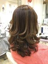 ヘアーアンドメイク ポッシュ 日暮里店(HAIR&MAKE POSH)highlight edge
