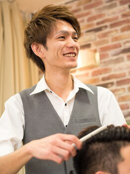 ヘアーサロン ふらっと(Hair Salon)の写真/清潔感を大切にする方におすすめ!プロの技術と理容室ならではのお手頃な価格で身だしなみも綺麗に整える☆
