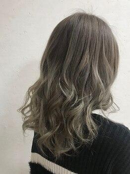 ヘアーメイク リアン 新田辺店(Hair Make REAN)の写真/【カット+外国人風カラー¥7998】人気の外国人風カラーはダメージレスな薬剤でカラーを楽しめる♪