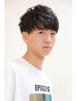 パーフェクトビューティーイチリュウ(perfect beauty ichiryu)黒髪マッシュシュート