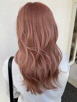 ヘアーサロン リアン 熊谷2号店(hair salon Rien)ペールピンク♪
