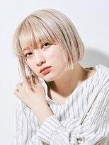 ジュール 銀座 ヘアラウンジ(Joule Hair Lounge)魅惑のホワイトべージュ×ミニボブ [銀座]