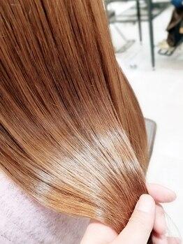 ピュア プレイス ラボ(PURE PLACE LABO)の写真/≪髪質改善≫高リピート中♪板橋では珍しい【高濃度水素】【酸熱】2つの髪質改善メニュー取り扱い♪