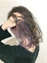 インナーカラー☆バイオレット【Alma hair】