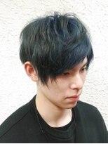 ヘアーメイクサロンアカイシ(hairmake salon AKAISHI)<クリア>ブルーブラック