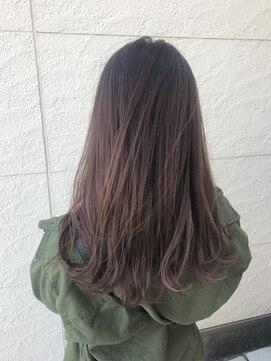 ヘアーシー(HAIR C,)透明感たっぷり♪シアーピンクベージュ◎