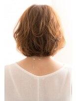 濡れ髪ウェットヘアウルフパーマ透け感くすみブルーくすみカラー