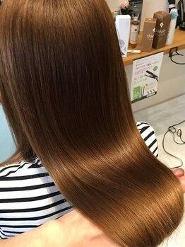 SIN美髪研究所の写真/長年のお悩みである くせ・うねり を扱いやすい髪に育て、貴女らしさを追求いたします♪