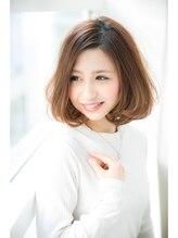 ソーエン アーサス ヘアー サローネ 札幌駅前 札幌3号店(soen×Ursus hair salone)ロマンティックボブ