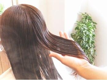 キイロヘアー(KEY-RO HAIR)の写真/3種の抗酸化成分と贅沢な保湿成分配合!髪と頭皮に優しい≪ORGANIC NOTE≫トリートメントでしっとり艶髪へ♪