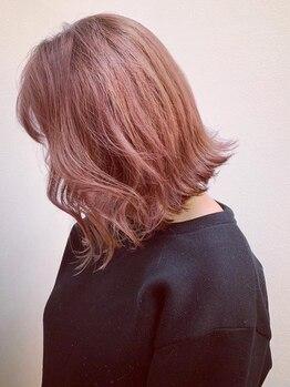 ヘアストーリー レオ(Hair Story RE:O)の写真/【edolカラー☆】今までにない綺麗な透明感が、ダメージレスで叶います♪旬色にイメチェンも◎