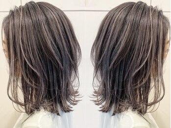 ギフト ヘアーデザイン(gift hair design)の写真/お悩みに合わせたトリートメントでワンランク上の上質な髪質へ!あなただけのオリジナルケアレシピ♪