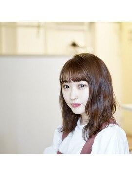 ロイ ヘアルーム 草加店(Roy hairroom)☆無造作シアーミディアム☆