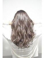 【miel hair bijoux】リッチロング ミルクティーカラー