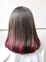 マルカ(marca)【Color Style】 インナーWカラー in チェリーレッド♪