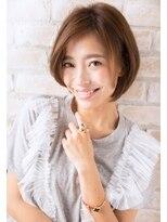 ボニークチュール(BONNY COUTURE)40代・大人女子ひし形ショートボブ・ダイヤモンドシルエット