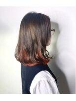 ソース ヘア アトリエ 京橋(Source hair atelier)【SOURCE】インナーオレンジ
