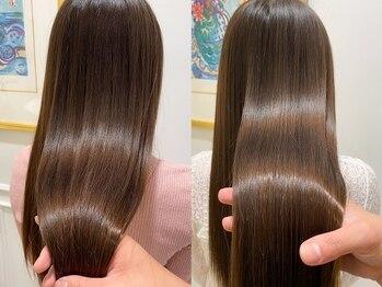 マイラ 銀座(myla)の写真/【銀座駅20秒】最高級Aujuaトリートメントで理想的な髪に♪
