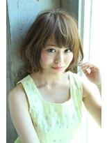 ギフト ヘアー サロン(gift hair salon)甘め外ハネパーマスタイル  (熊本・通町筋・上通り)