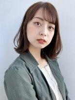 ガーデントウキョウ(GARDEN Tokyo)【GARDEN荒井夏海】ふんわりレイヤーボブ×シースルー前髪