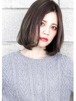 ヘアサロン ガリカ 表参道(hair salon Gallica)『 毛束感 ×グレージュ』ワンカールひし形シルエット小顔ボブ☆