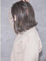 キアラ(Kchiara)透け感ハイライトグレイベージュ/kchiara川野直人