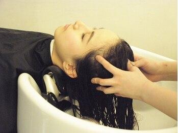 ナチュラル コレット(Natural collet)の写真/髪と頭皮の極上エステ【マイクロナノバブル】導入★《血行促進×髪質改善》効果で髪本来の輝きへ導きます♪