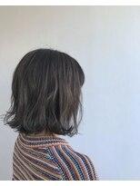 ヘアメイク オブジェ(hair make objet)スペシャルグレージュハイライト KAI