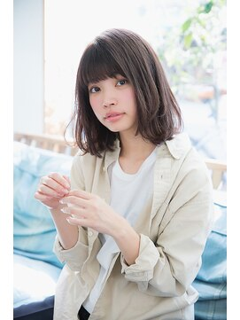 ベイルーム(BAYROOM by HONEY omotesando)【 BAYROOM 横浜】シンプルで大人可愛いボブ