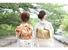 リラシス(RELASIS)の雰囲気(振袖着付+ヘアセット+メイク¥12,400円!)