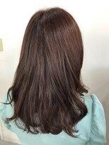 ヘアーアンドメイク ポッシュ 根岸店(HAIR&MAKE POSH)ピンクグレージュカラー