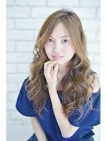 【RELEDEN/川越】センターパートハニーヘアロング☆