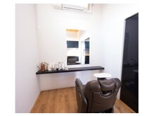 アパートメントヘアーの雰囲気(ゆっくりとできる個室完備)